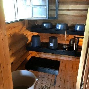 Sauna Fishing Camp